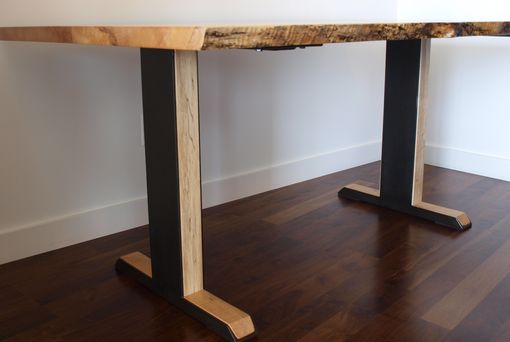 Custom Made Natural Live Edge Maple Table