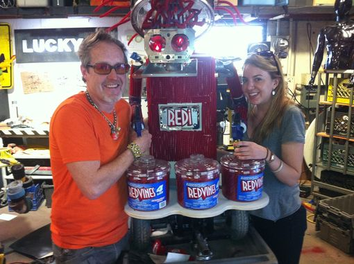 Custom Made Redi The Red Vines Robot