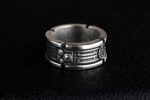 Custom Made Star Wars Engagement Band