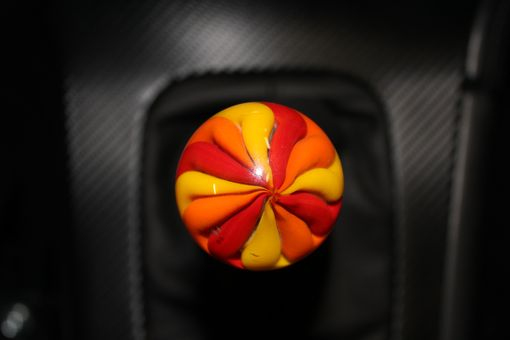 Custom Made Custom Handmade Glass Shift Knob
