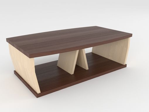 Custom Made Cevian Ii: Custom Coffee Table For Large, Small And Narrow Rooms