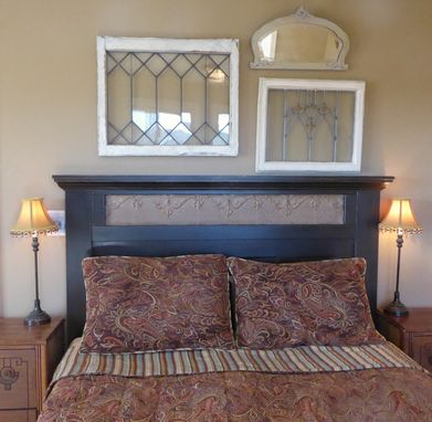Custom Made Ruth's Pressed Tin Headboard
