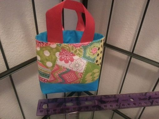 Custom Made Fabric Goodie Or Loot Bags - Party Favors