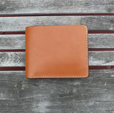Custom Made Garny - №14 Leather Wallet - Whiskey Color