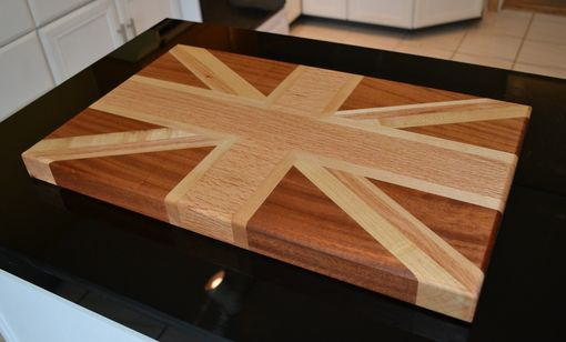 Custom Made Union Jack Cutting Board
