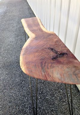 Custom Made Reclaimed Live Edge Walnut