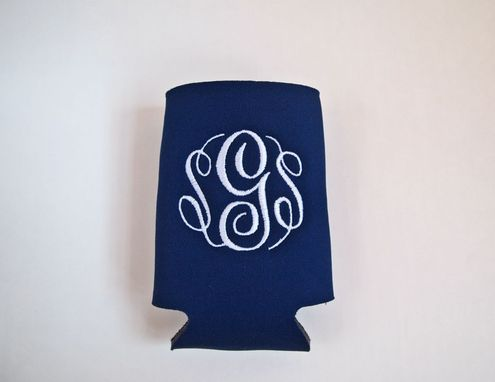 Custom Made Monogrammed Neoprene Koozies