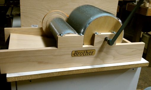 Custom Made Wool Drum Carder