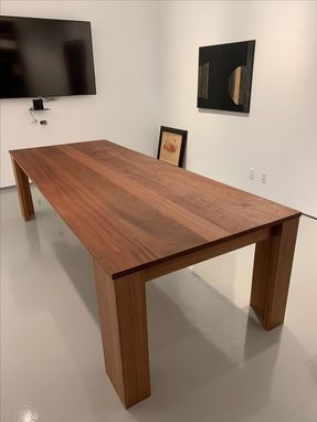 Custom Made Sapelle Conference Table