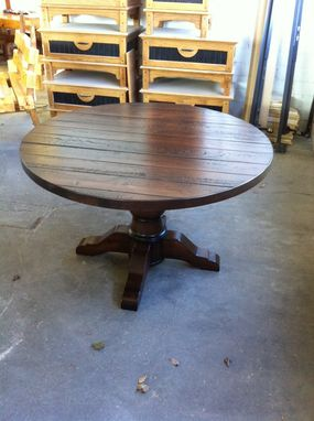 Custom Made Round Tuscan Dining Table