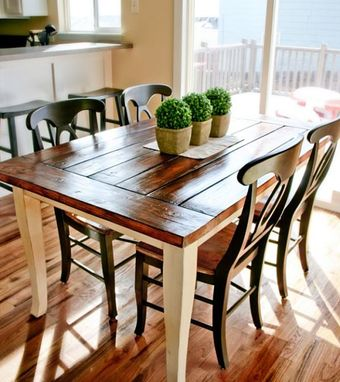 Custom Made Dining Room Kitchen Table - Free Shipping Included Lower 48 States
