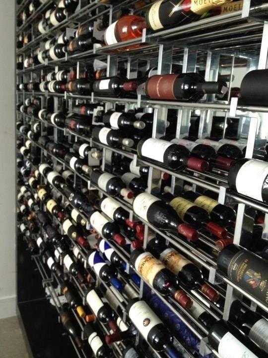 Custom Wine Rack Bottle Display By Steel Monkey Dream Shop