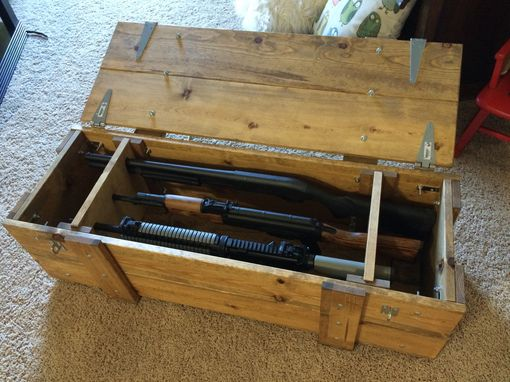 Custom Made Wood Gun Case