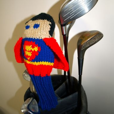 Custom Made Justice League Golf Head Covers