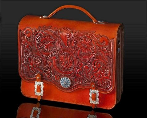 Custom Made Western Briefcase