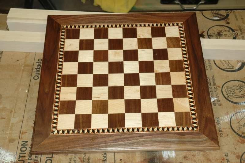 Nice Chess Boards custom maple and walnut chess boardwooden-it-be-nice