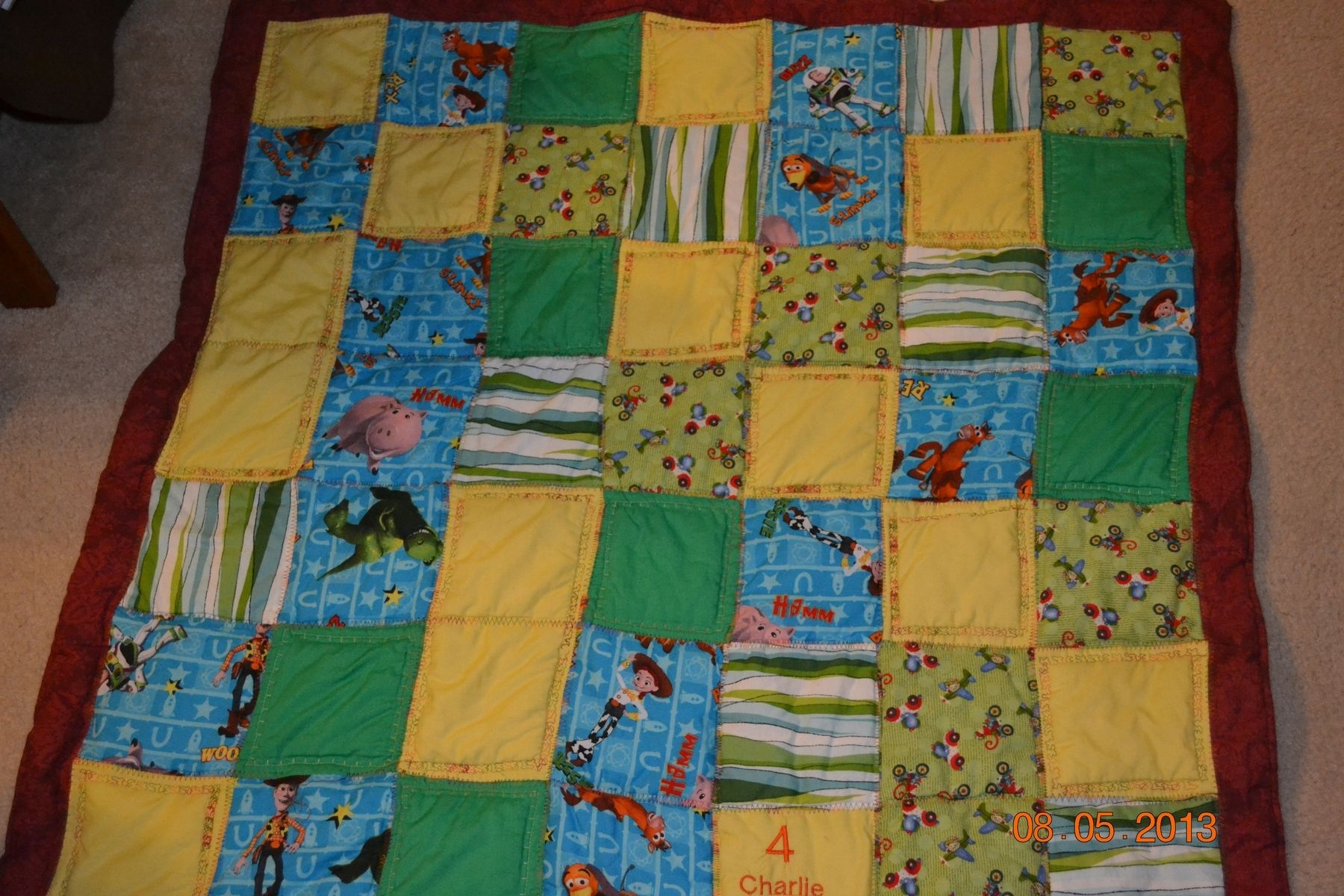 Custom Toy Story Cuddle Quilt By Mimi S Quilts