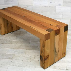 Swell Wooden Benches Custom Wood Benches Custommade Com Machost Co Dining Chair Design Ideas Machostcouk