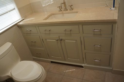 Custom Made Custom Bathroom Vanities