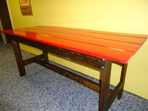 Custom Made The Red Shed-Door Table
