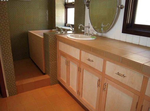 Custom Made Zen Bathroom Cabinets