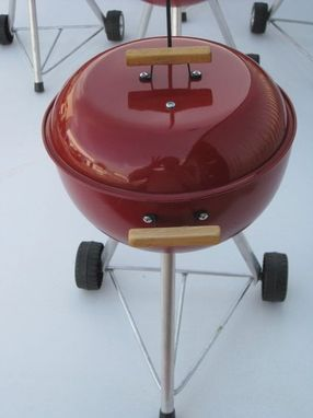 Custom Made Mini-Weber Bbq Grill Props
