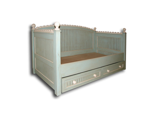 Custom Made Picket Fence Day Bed