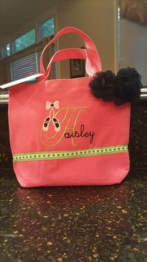 Custom Made Ballet Bag - Perfect Size For Ballet Or Dance Shoes