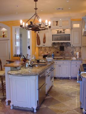 Custom Made Kitchen Cabinets.