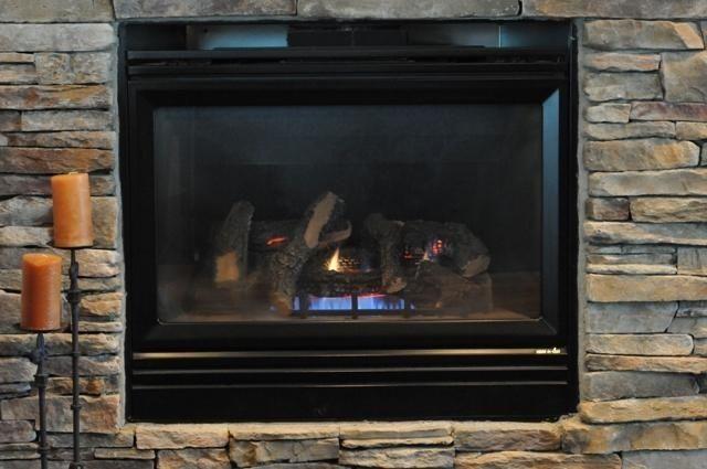 Custom Gas Fireplace Screen Door Reface By Ironhaus