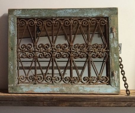 Custom Made Antique Grill Mirrors
