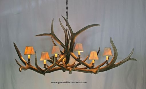 "Custom Made Elk Antler Chandelier ""Big Telluride"""
