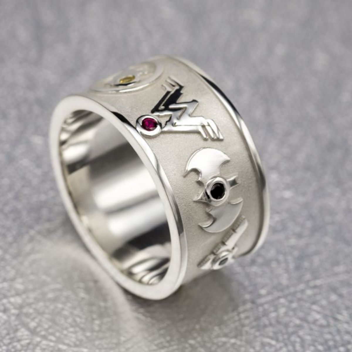 Geeky wedding bands