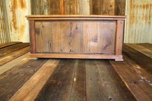Custom Made Rustic Reclaimed Barnwood Hope Chest