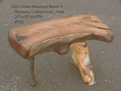 Custom Made Date Creek Nessmuck Bench