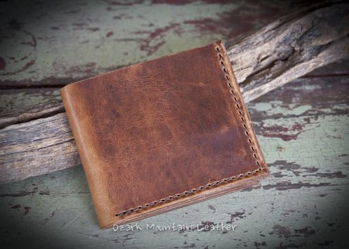 Custom Made Custom Horween Leather Bi Fold Wallet