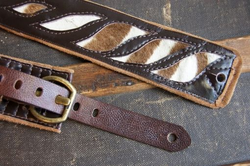 Custom Made Custom Leather Guitar Strap