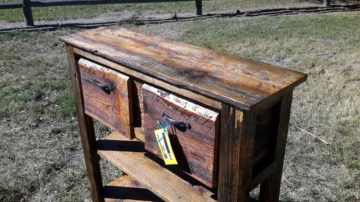 Custom Made Barnwood Entryway Table