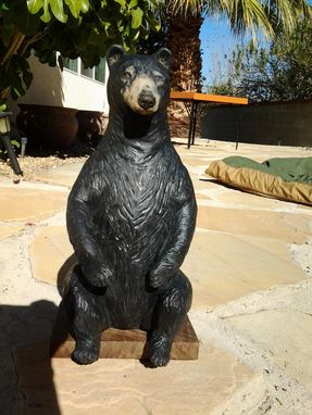 Custom Made Seated Bear