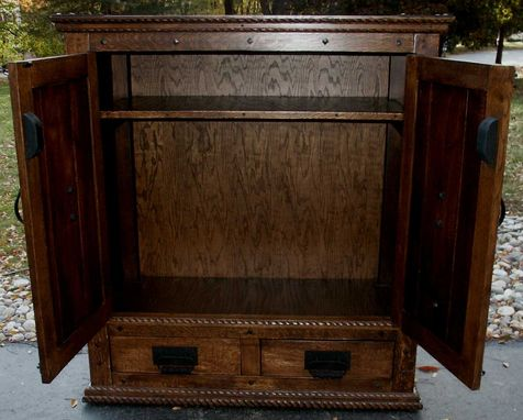 Custom Made New Wave Gothic Entertainment Center