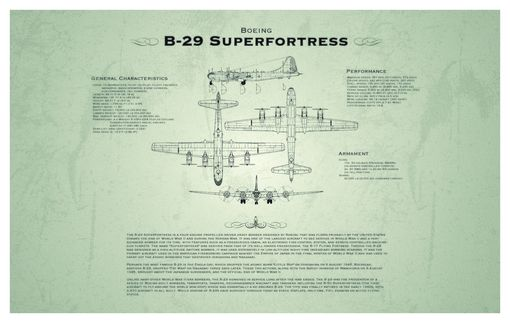 Custom Made Blueprint Style Nautical And Aviation Prints