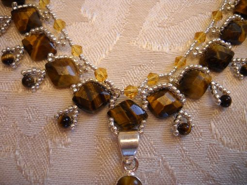 Custom Made Tigers Eye Princess Necklace