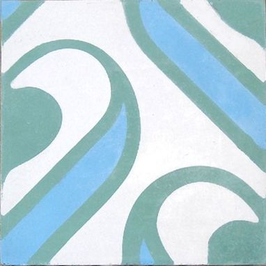 Custom Made Contemporary Patterned Cement Tile