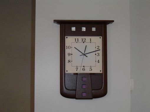 Custom Made Mackintosh Clock