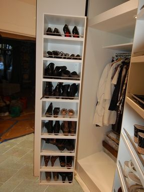 Custom Made Lacquered Closet System