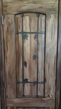 Custom Made Pantry Door Mural