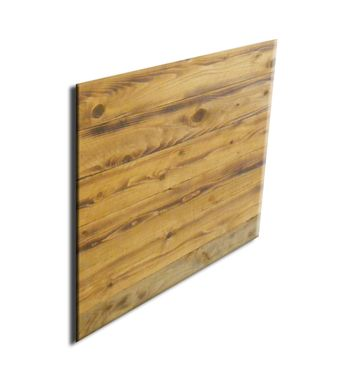 Custom Made #62 Decorative Dallas Style Reclaimed Wood Art Board