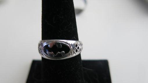 Custom Made Tapered Batman Wedding Band