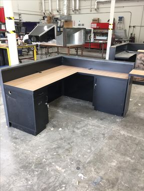 Custom Made #25 Custom Reception Desk