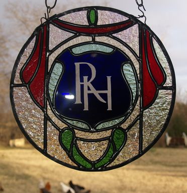 Custom Made Stained Glass Suncatcher Reproduction